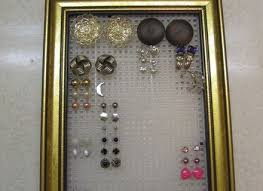 earring stud holder diy stud earring holder earring stud holder personal