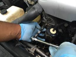 how to fix squeaking tensioner pulley nissan forum nissan forums