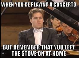 orchestra memes or when you get to a part where you facebook