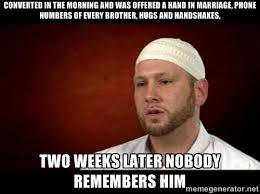 Funny Muslim Memes - a guide to salaat and deen for revert muslims between sisters svp