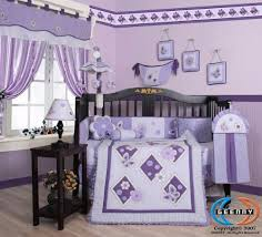 Nursery Crib Bedding Sets Boutique Brand New Geenny Lavender Butterfly 13pcs Baby Nursery
