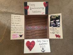 ideas for 1 year anniversary one year anniversary deployment care package paper anniversary