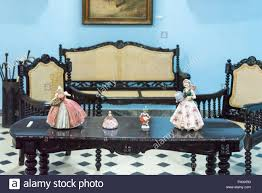 Spanish Colonial Furniture by Spanish Wooden Style Furniture In Colonial House The Luxurious