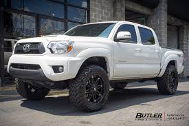 toyota tacoma rims and tires toyota tacoma with 20in fuel hostage wheels exclusively from