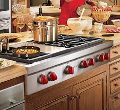 Wolf 15 Gas Cooktop Wolf Wsrt364g Gas Cooktop Stainless Steel With Griddle Kitchen