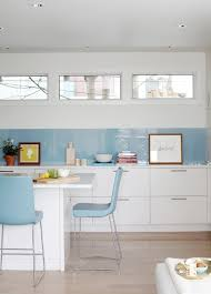 Blue Glass Kitchen Backsplash Trend Trendy And Unique Kitchen Backsplash Ideas For Blue