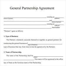 doc 460595 business partnership agreements u2013 partnership
