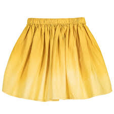 cotton skirts et miel yellow cotton skirt childrensalon