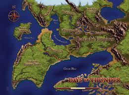 Forgotten Realms Map Days Of Thunder Forgotten Realms Wiki Fandom Powered By Wikia