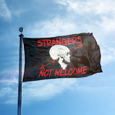 Join Or Die Flag Meaning Strangers Not Welcome Flag Oaf Nation