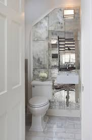 Mirror Bathroom Tiles Get An Expensive Look In Your Bathroom For Money One