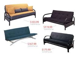 back to metal futons sale
