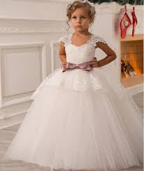 popular sale first communion dresses for girls vintage lace