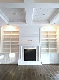 Wood Bookshelves With Doors by Best 20 Fireplace Bookcase Ideas On Pinterest Fireplace Built