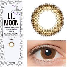 rx halloween contact lenses buy lilmoon 1 day chocolate circle lens eyecandys