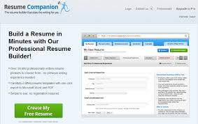 Best Resume Builder Websites Best Resume Builder Site 2017 Resume Builder