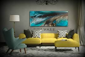Home Interiors And Gifts Framed Art Giclee Prints Art Abstract Painting Coastal Home Decor Modern