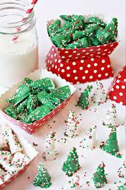 christmas tree snacks