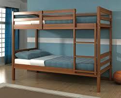 Wood Bunk Bed Plans Simple Bunk Bed Designs Megaups Me
