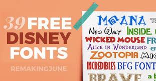 39 free disney fonts moana bfg zootopia favorites