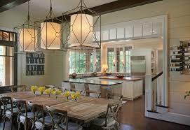 beautiful kitchen table pendant lighting for interior design