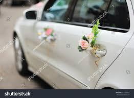 Wedding Car Decorations Wedding Car Decoration Stock Photo 117782443 Shutterstock