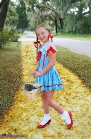 Dorothy Toto Halloween Costume Girls Wizard Oz Dorothy Costume