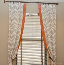 Curtains For Nursery by Orange Nursery Curtains Thenurseries