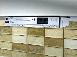 kitchen radio under cabinet under counter radio medium size of shelf stereo under cabinet radio