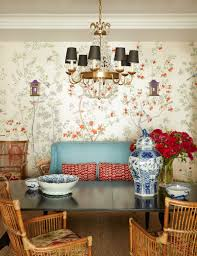 dining room wall paper my room isn u0027t blue can i still do blue and white chinoiserie
