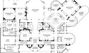 luxury mansions floor plans house plans castle luxury mansion building plans 48801