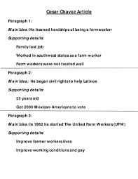 cesar chavez summary note answers betterlesson