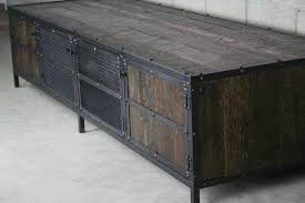 Reclaimed Wood Executive Desk Combine 9 Industrial Furniture