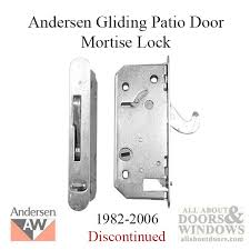 Patio Door Mortise Lock Replacement Style Deadlock Andersen Reachout 1982 2006 Gliding Patio Door