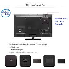 mini tv for android x96 mini android 7 1 2 amlogic s905w 4k tv box 2gb 16gb