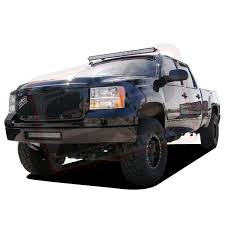 50 rigid led light bar w roof mount brackets 2007 2013 silverado