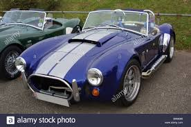 replica cars pair of ac cobra replica kit cars stock photo royalty free image