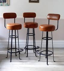 Brown Leather Bar Stool Best 25 Bar Stools Uk Ideas On Pinterest Stools Breakfast Bar