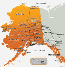 alaska major cities map travel alaska getting to alaska by road