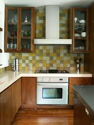 kitchen backsplash designs brown plaid ceramic tile floor double