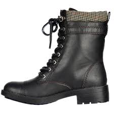 ladies lace up biker boots ladies black lace up ankle boots yu boots