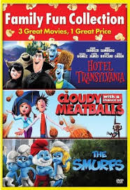 cloudy chance meatballs hotel transylvania smurfs 2