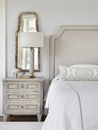 gray distressed bed design ideas