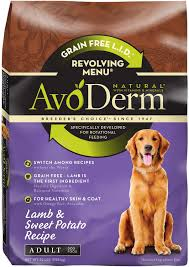 avoderm natural grain free revolving menu lamb u0026 sweet potato