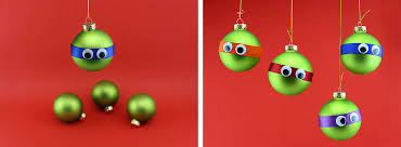 mutant turtle googly eyed ornaments nickelodeon