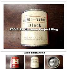 authentic oem original vintage honda paint z50 a mini trail
