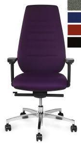 fauteuil de bureau dossier inclinable siege de bureau haut dossier en tissu caudry