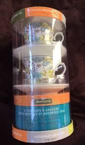 tea gift sets bentley s tea gift set 2 tea cups saucers w 5 tea flavors 20