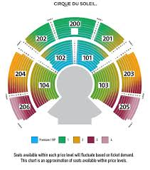 Pepsi Center Seating Map Grand Chapiteau At Dodger Stadium Los Angeles Tickets Schedule