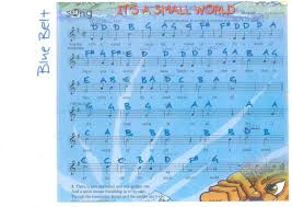 recorder blue belt it u0027s a small world after all music brings us